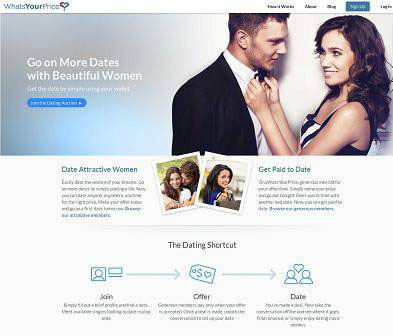 Whats your price online dating